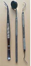 1 Each MIRROR, EXPLORER & COLLEGE PLIER Basic Dental Instruments