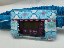 Turquoise Medalllion Insulin Pump Pouch case animas Tslim Medtronic