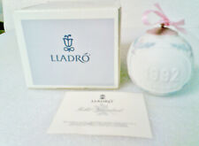 Lladro 1992 Christmas Ornament ball in original box
