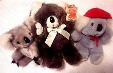 3 Koala Bear Joey Stuffed Plush Cuddle Wit Kids of America Russ Berrie & Co New