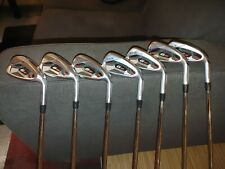 Used Ping G410 Black Dot Iron Set 4-W stiff Flex Steel Shafts. Traditional spec