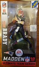 McFarlane NFL EA Sports Madden 18 Series 1 Tom Brady Color Rush variant chase