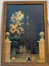 Maxfield Parrish Original Sugar Plum Tree Print