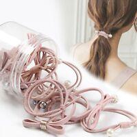 12Pcs Cute Kids Girl Elastic Rope Hair Ties Ponytail Holder Head Band Hairbands