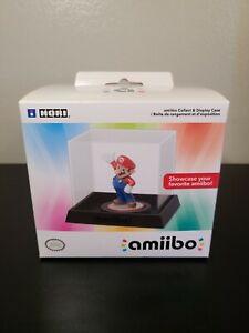 Official Hori Nintendo Amiibo Display Clear Showcase Case AMB-005U Authentic
