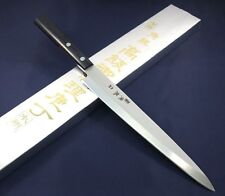 Japanese Yanagiba Knife TSUNOUMA Superalloy Vanadium 230mm sashimi Made in Japan