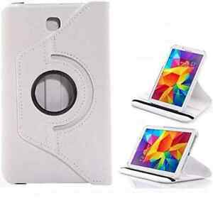 PU Leather Smart Stand Case Cover Samsung Galaxy Tab 4 T330 8 Inch Tablet 360°