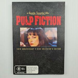 Pulp Fiction Quentin Tarantino 10th Ann 2 Disc Collectors Edition 2005 DVD R4