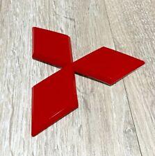 RED  LOGO EMBLEM FOR MITSUBISHI PAJERO SPORT L200 TRITON