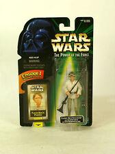 Star Wars Flashback Card Luke Skywalker Floppy Hat MOC potf2