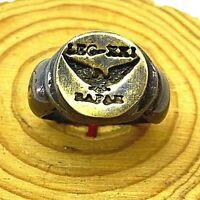 Bronze RING Antiques Ancient Rare ROMAN LEGIO XXI RAPAX