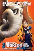 Horton Hears Ein Who ! (Single Seiten) Advance Stil B) Original Filmposter