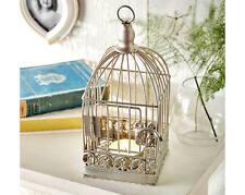 BIRD Cage Tea-Light portacandele TABLE Feature Ornamento Decorazione