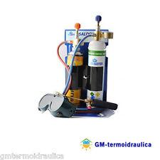 Kit Saldatura Ossigeno Gas Acetilene Euro Ossigeno SK555 Cannello con Occhiali
