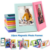 Magnetic Fridge Photo Frames For Fujifilm Instax Mini 9/8/70s/90 Polaroid 300