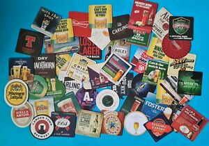 Pack Of 40 Assorted New Beer Mats