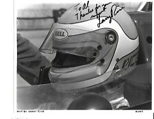 IndyCar Auto Racing Photo Autographed by the late Larry Rice