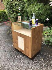 Vintage Shop Counter / Bar / Mancave ,pub  60s-70s Martini Bottle Lamp Included
