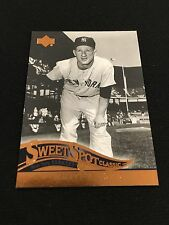 """WHITEY FORD RETRO COOPERSTOWN """"SWEET CLASSIC"""" UD 2005 YANKEES BASEBALL CARD"""