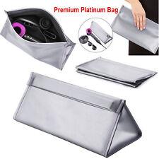 Premium platinum Carrying Case Storage Bag Pouch For Dyson Supersonic Hair Dryer