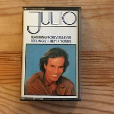 Julio Iglesias Julio Cassette Tape