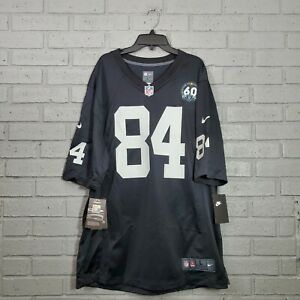 Nike Raiders Antonio Brown #84 60th Anniversary Men's Size L Jersey CV8915-011