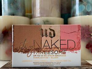 Urban Decay Stay Naked Threesome Bronzer, Highlighter, Blush BNIB (You Pick)
