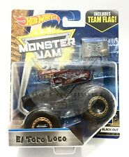 Hot Wheels Monster Jam Black Out El Toro Loco (Chase) SALE!