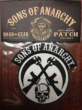Authentic Sons Of Anarchy Crossed Rifle Logo Soa Biker Sew On / Glue On Patch