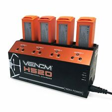 Venom Pro Yuneec H520 4-Port LiPo Battery Balance Charger with Dual USB Outputs