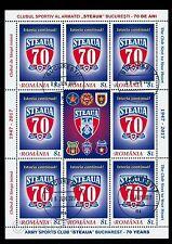 2017 STEAUA/the STAR,Army Sport CLUB,70th anniversary,Romania,KB/VFU