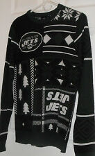 New York NYJets Christmas Sweater KLEW NFL Team Apparel Ugly Xmas NWT S