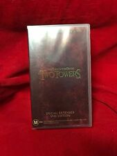 The Lord Of The Rings The Two Towers Special Extended Edition VHS Video Tape