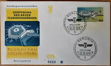 Berlin:ERSTTAGSBRIEF Nr.0660 Schmuckumschlag Mi. 477 ERÖFFNUNG Flughafen Tegel