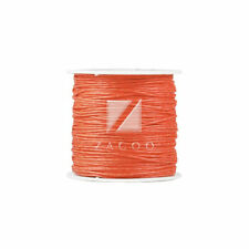 80M/Roll Waxed Cotton Cord 0.8/1/1.5/2mm Jewelry Making Thread String Beading
