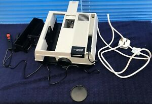 "Hanimex Slide Projector ""1500 RF(Remote Focus)"".  Wired Remote Control."