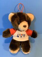 Bear House I Love 911 Bear 6 Inches