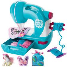 COOL MAKER Kinder Mini Hand Nähmaschine Elektrisch Haushalt Spielzeug XL Zubehör