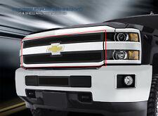 Fedar Fits 2014-2015 Silverado 2500HD/3500HD Full Black Upper WIre Mesh Grille