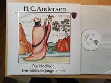 Le rossignol & le vilain garçon petit canard LP: H.C. Andersen (toupie 0754008)