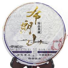 2013 yr 357g Supreme Yunnan BuLang Mount. Impress puer Pu'er Puerh Tea Raw Cake