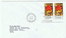 Canada #537(1) 1971 6 cent Autumn Maple Leaves FDC
