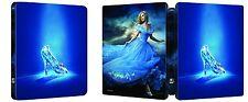 Cinderella - 2015 Limited Edition Steelbook Bilingual Blu-ray Region Free