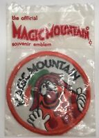 Vintage Collectible MAGIC MOUNTAIN Round Souvenir Patch Emblem (RF997)