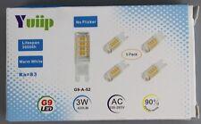 4x g9 LED warmweiss lámpara bombilla 3w 420lm ningún parpadeo a + + YPs-yp
