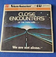 Vintage gaf J47 Close Encounters of the Third Kind Film view-master Reels Packet