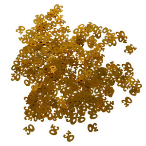 Glitter 30th Birthday Table Confetti Wedding Anniversary Birhday Party Decor