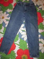 "Vintage Lee Made in Usa blue denim jeans womens sz 10 M Med high waist Euc 27"""