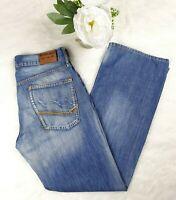 Tommy Hilfiger Mens Jeans Faded Blue Regular Straight Leg Size W32'' L32''