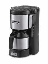 DELONGHI Kaffeemaschine mit Thermokanne Schwarz GB